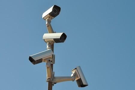 Kamera überwacht Selfstorage